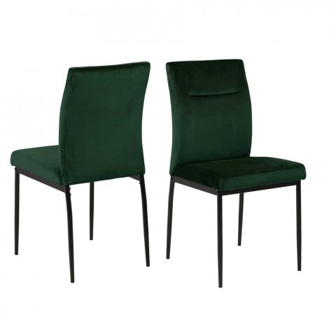 Satz von 2 Stühlen Deon - grün