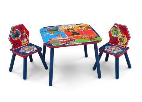 Tisch mit 2 Stühlen Paw Patrol
