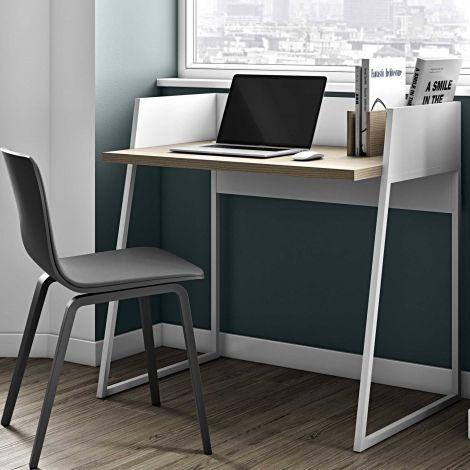 Office Volta - weiß/eiche
