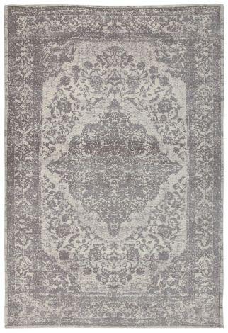 Teppich Argentella Medaillon 290x200 - Grau