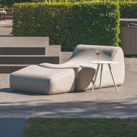 Lounge-Set Benot - hellgrau