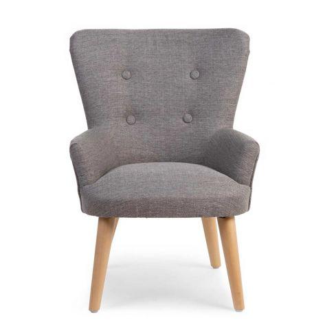 Kleines Sofa 1P Grau