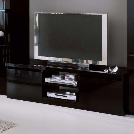 Fernsehschrank Roma 150cm - schwarz