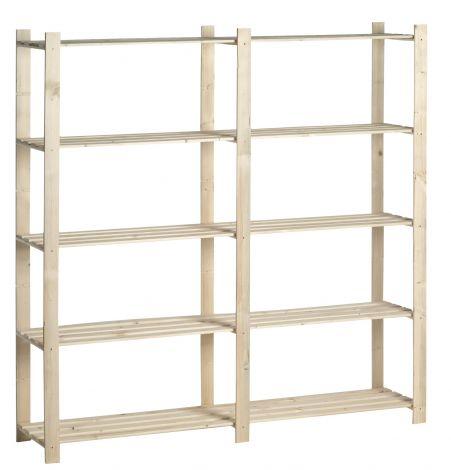 Holzlagergestell doppelt 30 kg