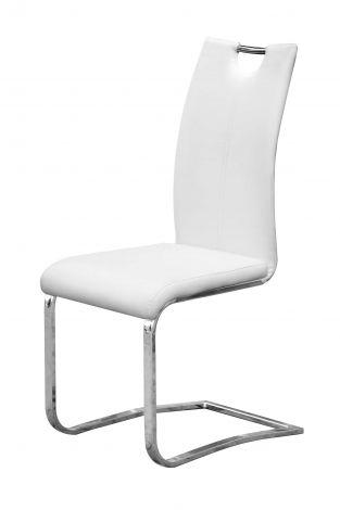 Set mit 2 Stühlen Sofia - weiß