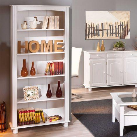 Bücherregal Abaco - weiß