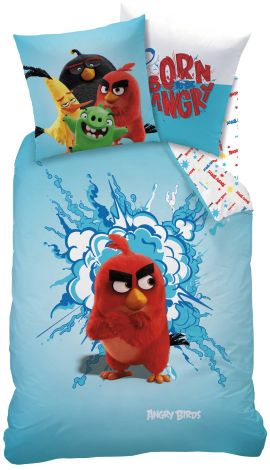 Bettwäsche Angry Birds Red 140x200