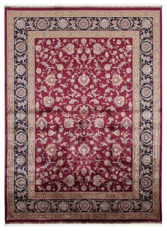 Teppich Qoum Shah 2 Burgund 180x120
