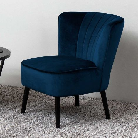 Lark resting chair - black, dark blue