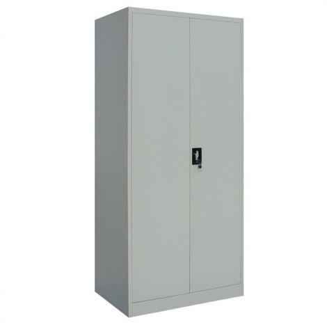 Lagerschrank Meino 2 Türen L80xH180 - grau