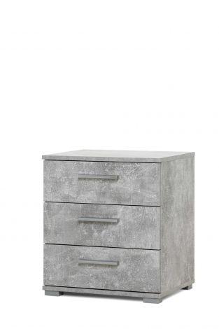 Konsole Elora 3 Schubladen - Beton