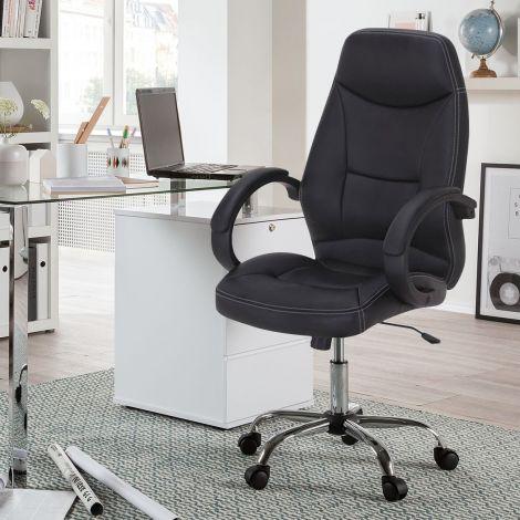 Bürostuhl Clever - schwarz