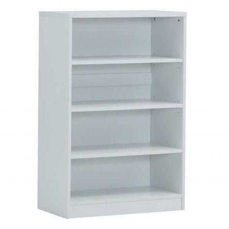 Bücherregal Spacio 72cm mit 3 Einlegeböden - weiß