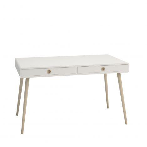 Schreibtisch Linz 130 cm - weiß