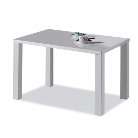 Esstisch Elisa 140x80 cm - weiß