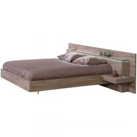 Bett Gracia mit 2 Nachttischen - 140x200cm