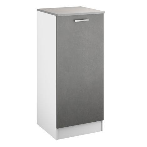 Küchenschrank Eli 60x141 mit Tür - Beton