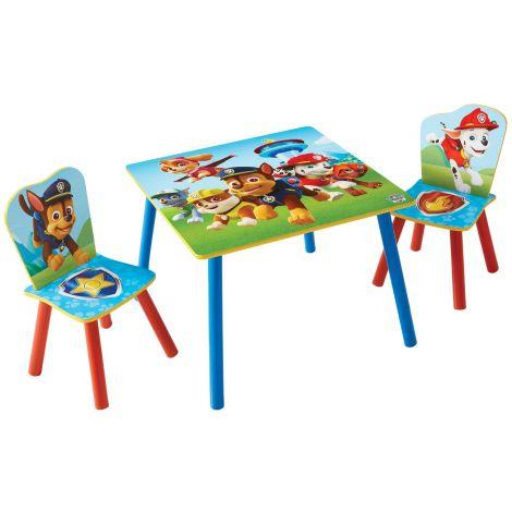 Kindertisch mit Stühlen Paw Patrol