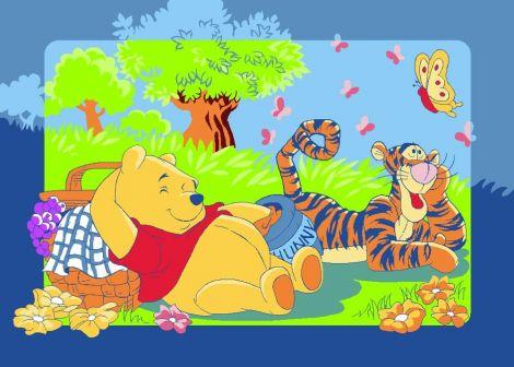 Teppich Winnie & Tigger