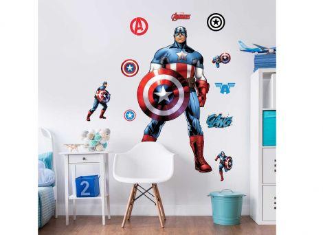 Wandsticker XL Captain America