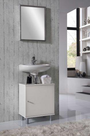 Waschtischunterschrank Rowan - weiß