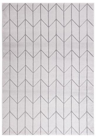 Teppich Handgeschnitzt A 230x160 - grau
