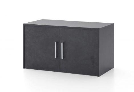 Maxi-office Wandschrank 2 Türen - graphit