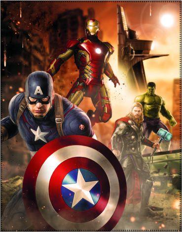 Kuscheldecke Avengers Age Of Ultron