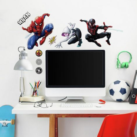 Wandaufkleber Spider-Man & Miles Morales