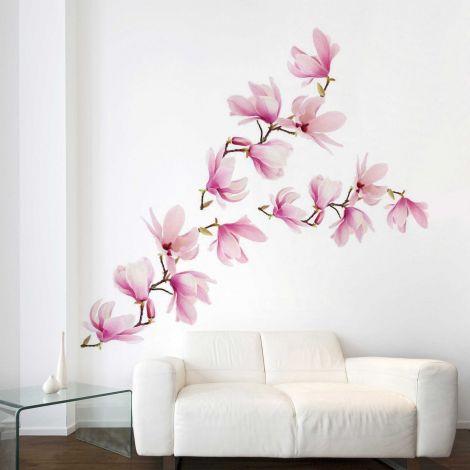 Riesen-Wandaufkleber Magnolia