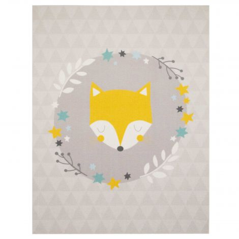 Teppich Schläfriger Fuchs