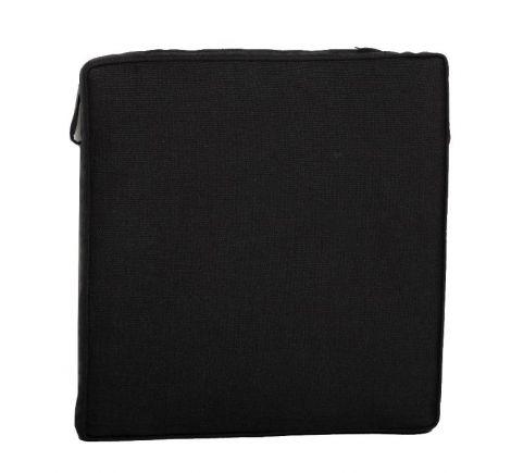 Sitzkissen Klappstuhl - schwarz