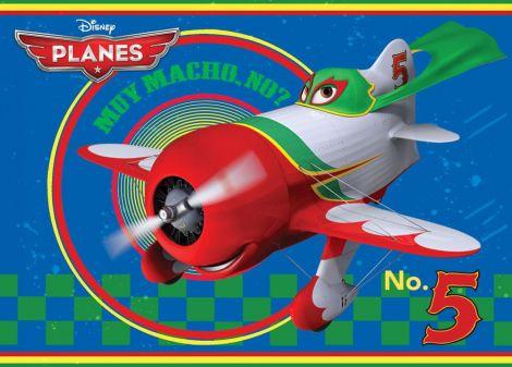 Teppich Planes - Number 5
