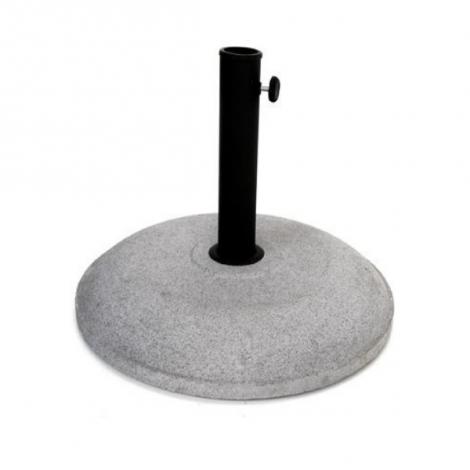 Runder Sonnenschirmsockel - Zement