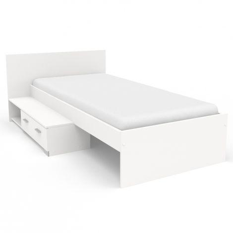 Kinderbett Galaxy mit Schublade - weiß