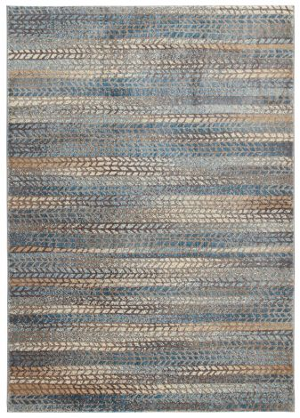Teppich Four Seasons 2 Grau Blau 160x230