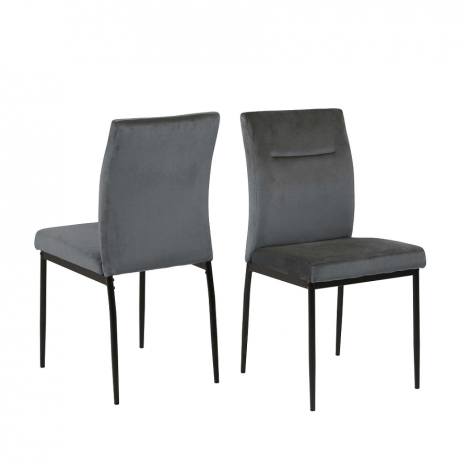 2er Set Stühle Deon - grau