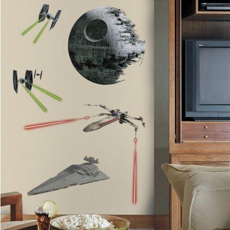 RoomMates Wandtattoos - Star Wars Classic Ships XL
