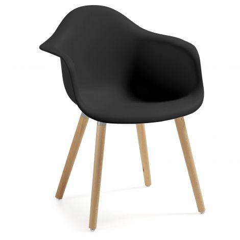 Stuhl Kevya - schwarz