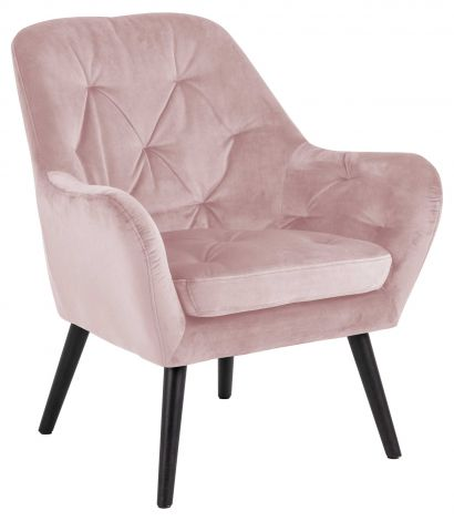 Astro resting chair - black, dusty rose