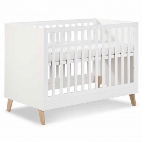 Babybett Neil 60x120 - weiß