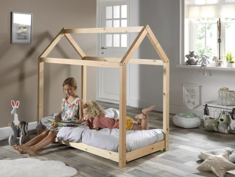 Homebett Home 70x140 - natürlich