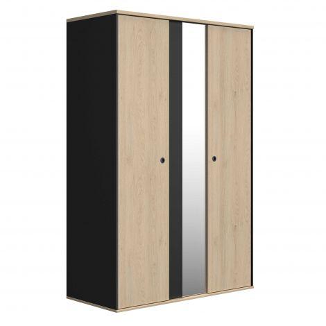 Garderobe Dean mit 2 Türen und Spiegel