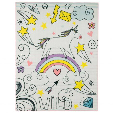 Teppich Einhorn Wild