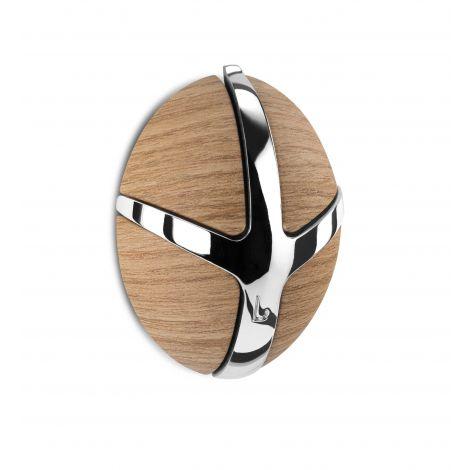 Garderobenhaken Tick - helles Holzdekor