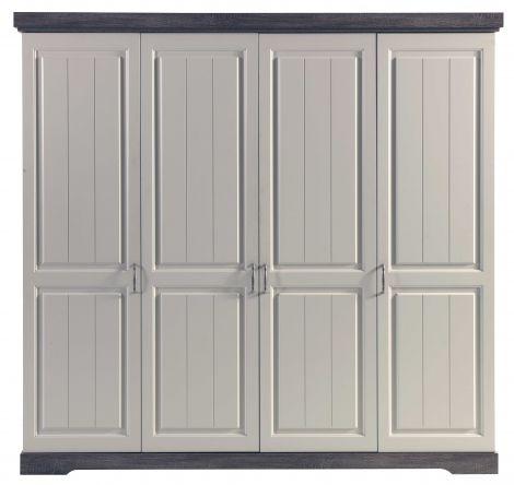 Kleiderschrank Yves - 4 Türen