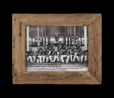 Fotorahmen Antiq 55x45 cm - altes Teakholz