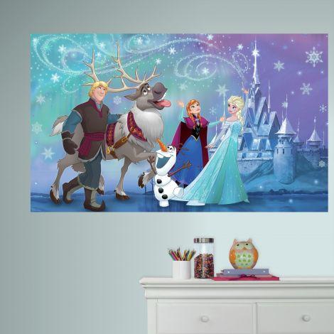 Wandaufkleber Gefrorene Elsa