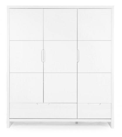 Kleiderschrank 3 Türen Quadro White