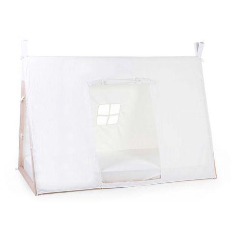 Schlafzelt für Tipi Jugendbett 90x200cm - weiß